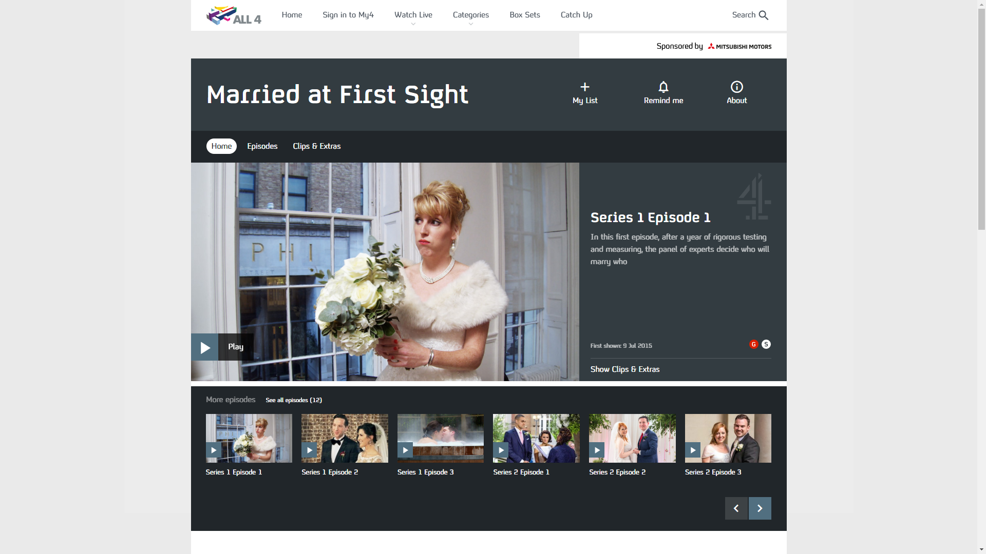 Channel 4 - Married at First Sight